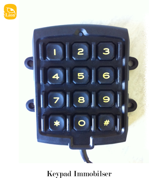 Keypad Immobiliser - Lion Vehicle Systems