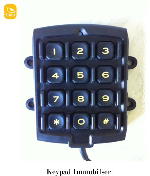 Keypad immobiliser